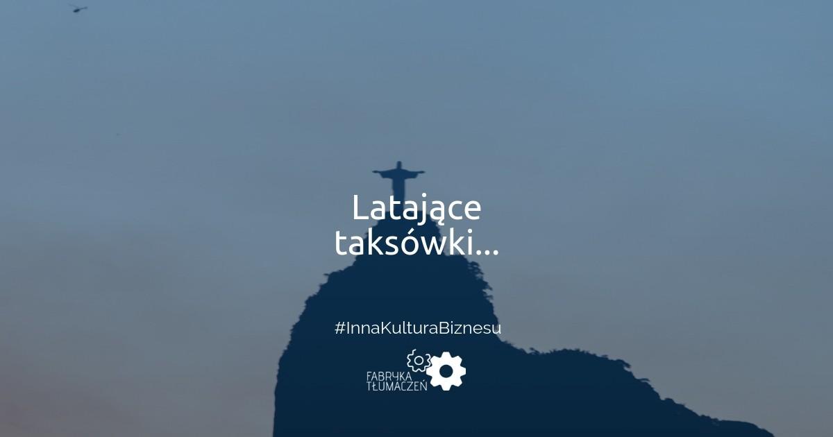 Latające taksówki, czyli jak zrealizować marzenia o brazylijskim startupie? Paul Malicki